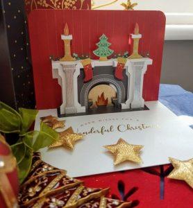 κάρτα για ευχές χριστουγέννων