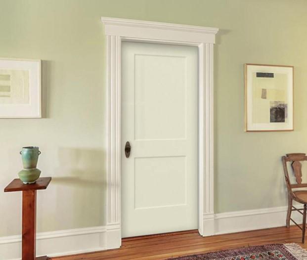 κλειστή πόρτα άσπρη κρατάς ζεστό σπίτι