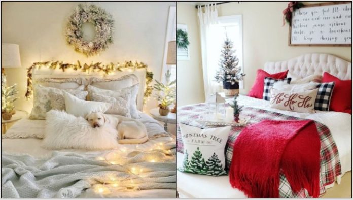 κρεβατοκάμαρα Χριστούγεννα