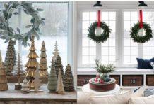 παράθυρα Χριστούγεννα