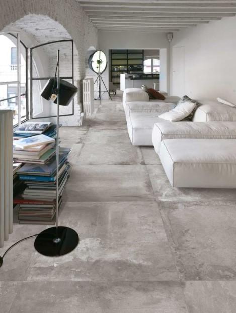 πάτωμα πέτρα άσπρος καναπές