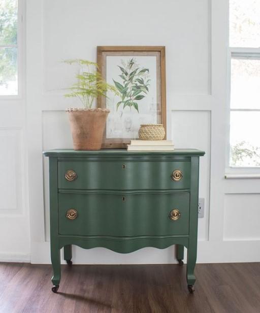 vintage έπιπλο συρταριέρα