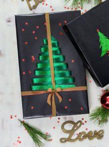 χριστουγεννιάτικη διακόσμηση δώρου