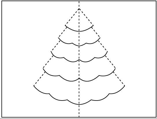 χριστουγεννιάτικο δέντρο για κατασκευές