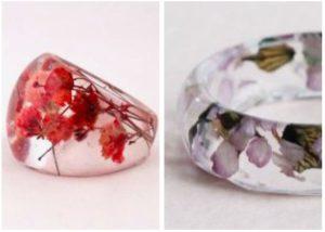 δαχτυλίδι από υγρό γυαλί