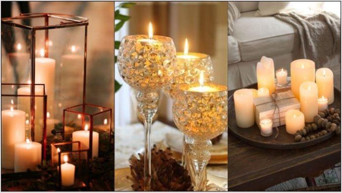διακοσμήσεις κεριά