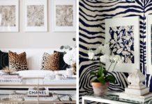 διακόσμηση στο σπίτι με animal print