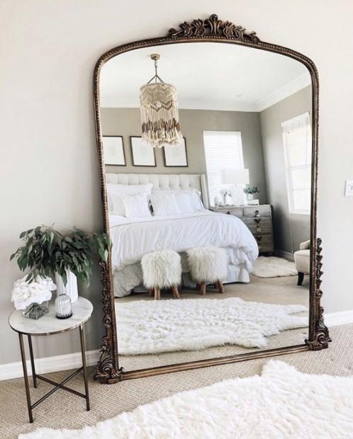 μεγάλος καθρέπτης υπνοδωμάτιο
