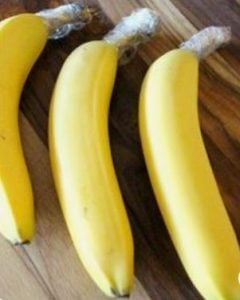 μείωσε το χρόνο μαυρίσματοπς στις μπανάνες