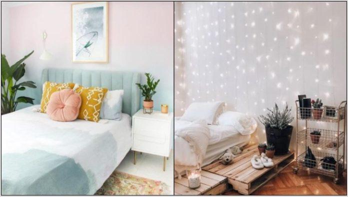 ρομαντικό υπνοδωμάτιο
