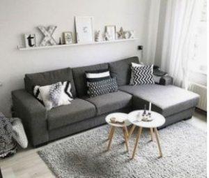 διακόσμηση για γωνιακό καναπέ κρεβάτι
