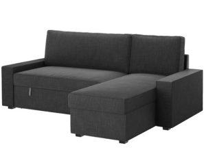 γωνιακός καναπές κρεβάτι