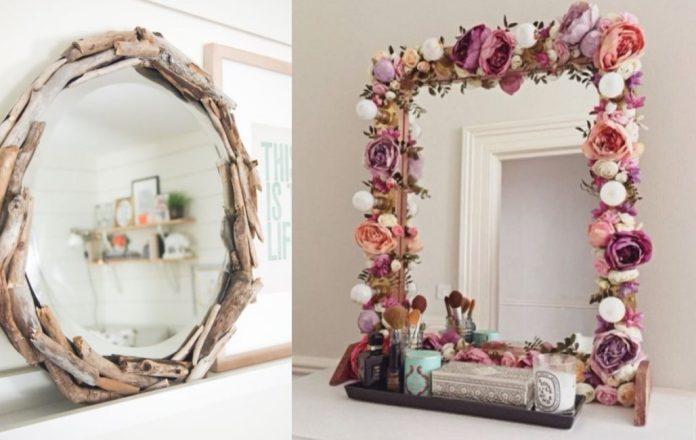ιδέες διακόσμησης σε καθρέφτη