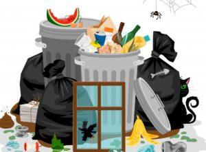 κάδοι σκουπιδιών που μυρίζουν