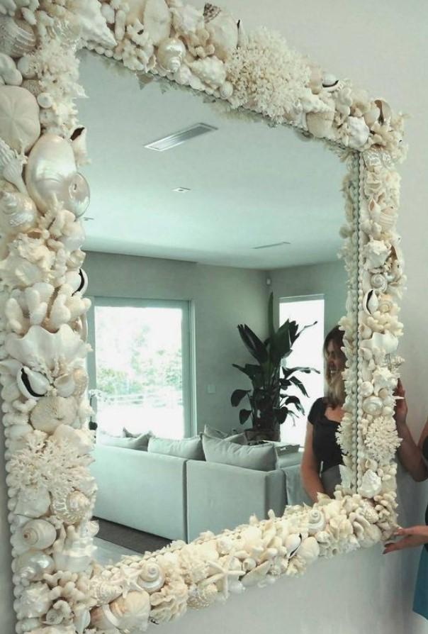 καλοακιρνή διακόσμηση καθρέφτη