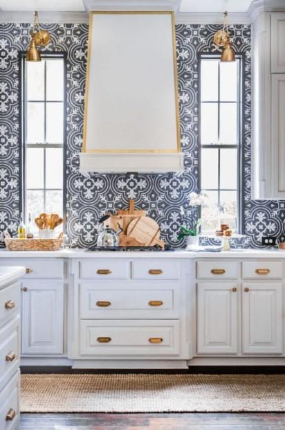 κουζίνα ιδιαίτερα πλακάκια τάσεις διακόσμησης κουζίνα