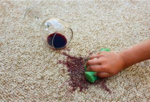 λεκές κόκκινο κρασί