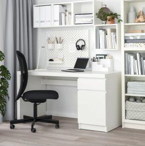 λευκό γραφείο