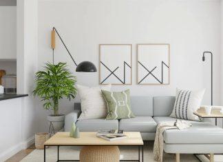 μίνιμαλ σαλόνι καναπές λάθη διαρρύθμισης