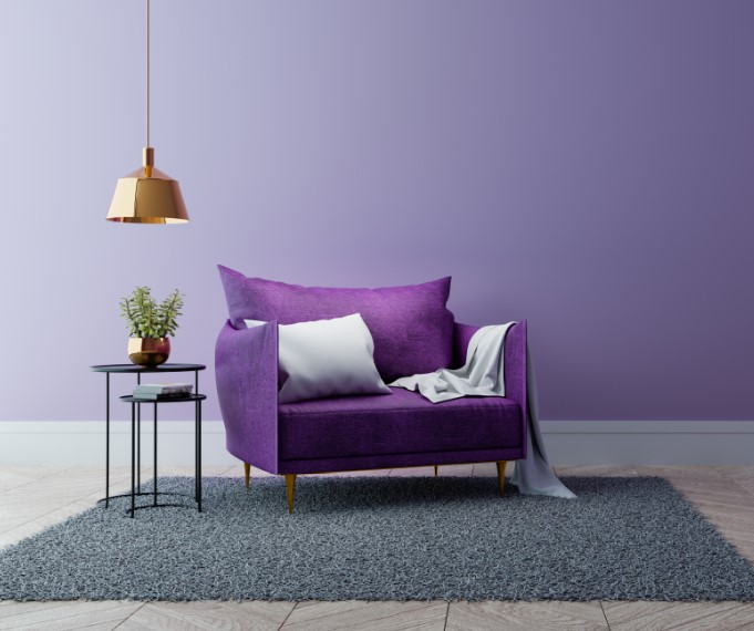 πολυθρονα μοβ