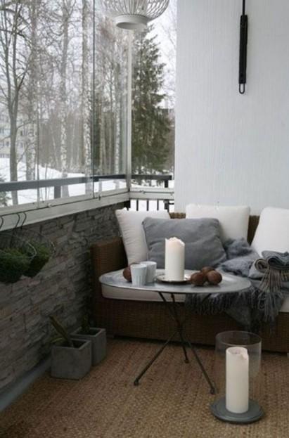 καλυμμένη βεράντα καναπές