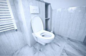 καθαρισμα λεκάνης τουαλέτας