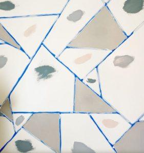 δειγματα μπογιας πριν βάψιμο τοιχου