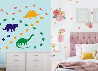 διακοσμηση παιδικού δωματιου με αυτοκολλητα τοίχου