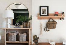 έξυπνες ιδεες οργανωσης της εισοδου του σπιτιου