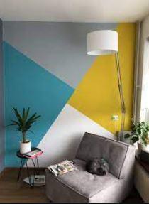 γεωμετρικοσ τοιχος καθιστικο