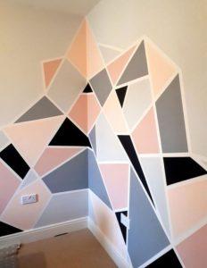 γεωμετρικοσ τοιχος μισος