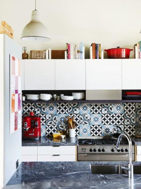 κουζίνα βιβλία κενό ντουλάπια κουζίνας