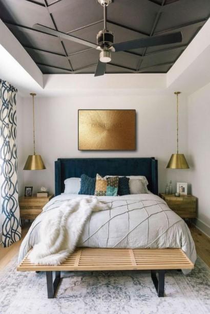 κρεβατοκάρατα χρυσά φωτιστικά τάσεις υπνοδωμάτιο 2021