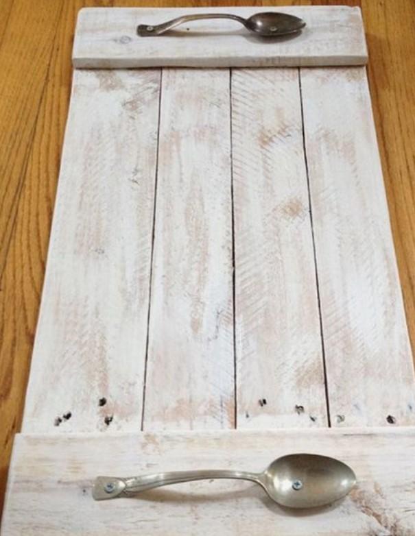 ξύλινα διακοσμητικά δίσκος