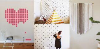 πώς να κρύψεις λεκέ στον τοίχο χωρίς βάψιμο