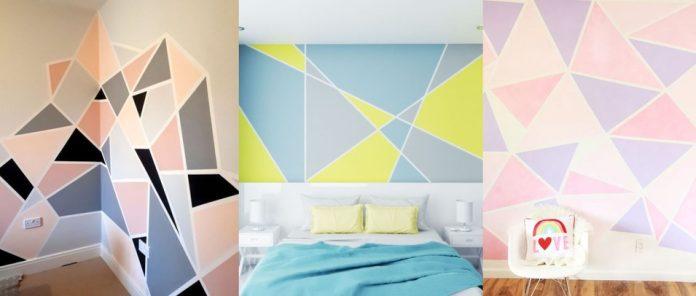 πως να κανεις τον απόλυτο DIY γεωμετρικό τοίχο