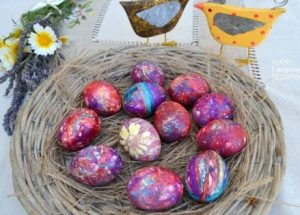 αυγα με κλωστες φλος