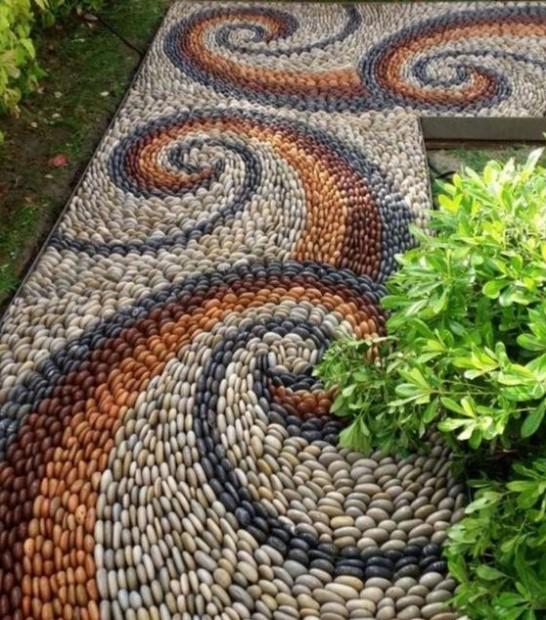 διάδρομος σχέδια πέτρες