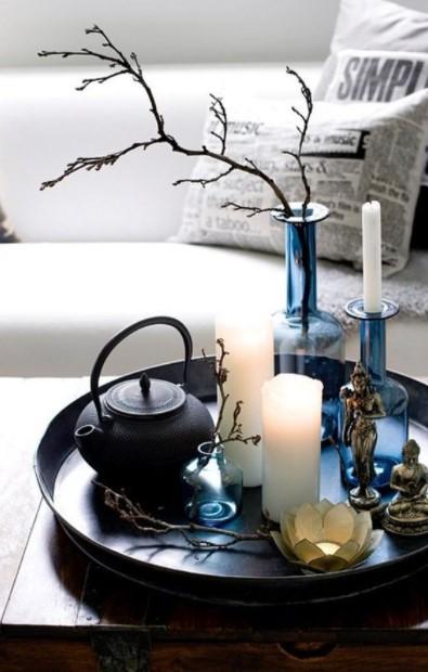 δίσκος βάζα κεριά σουβενίρ