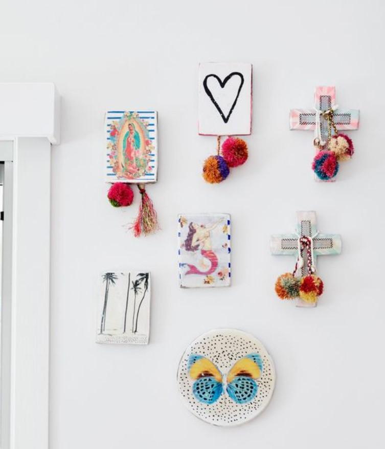 diy gallery wall