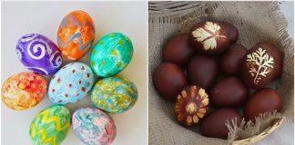 εναλλακτικοί τρόποι για να βάψεις τα αυγά σου