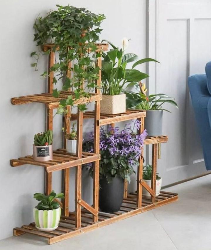 έπιπλο για το σαλόνι για φυτά