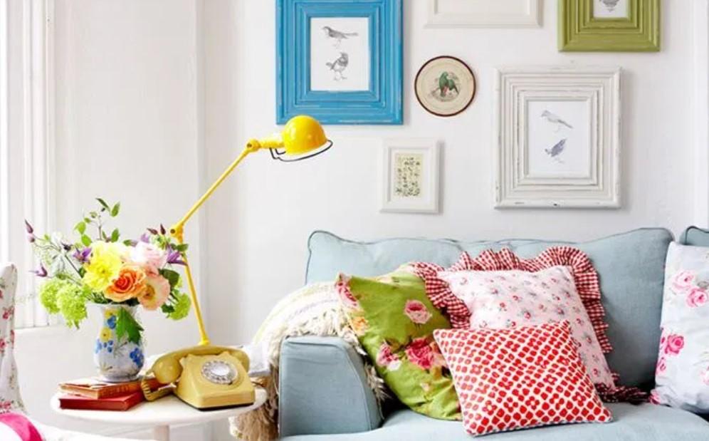 καναπές παστέλ χρώματα διακόσμηση σπιτιού