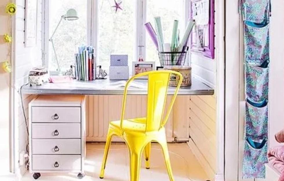 κίτρινη καρέκλα γραφείο