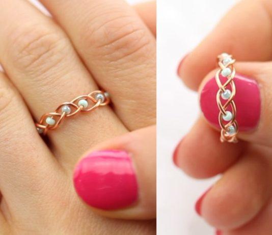 κατασκευή για δαχτυλίδι