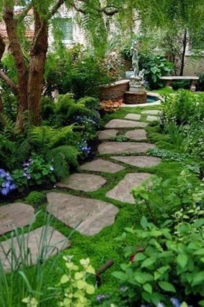 μονοπάτι κήπου πέτρες διάδρομοι κήπο