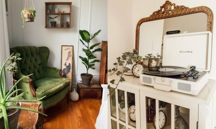 vintage διακόσμηση στο σπίτι