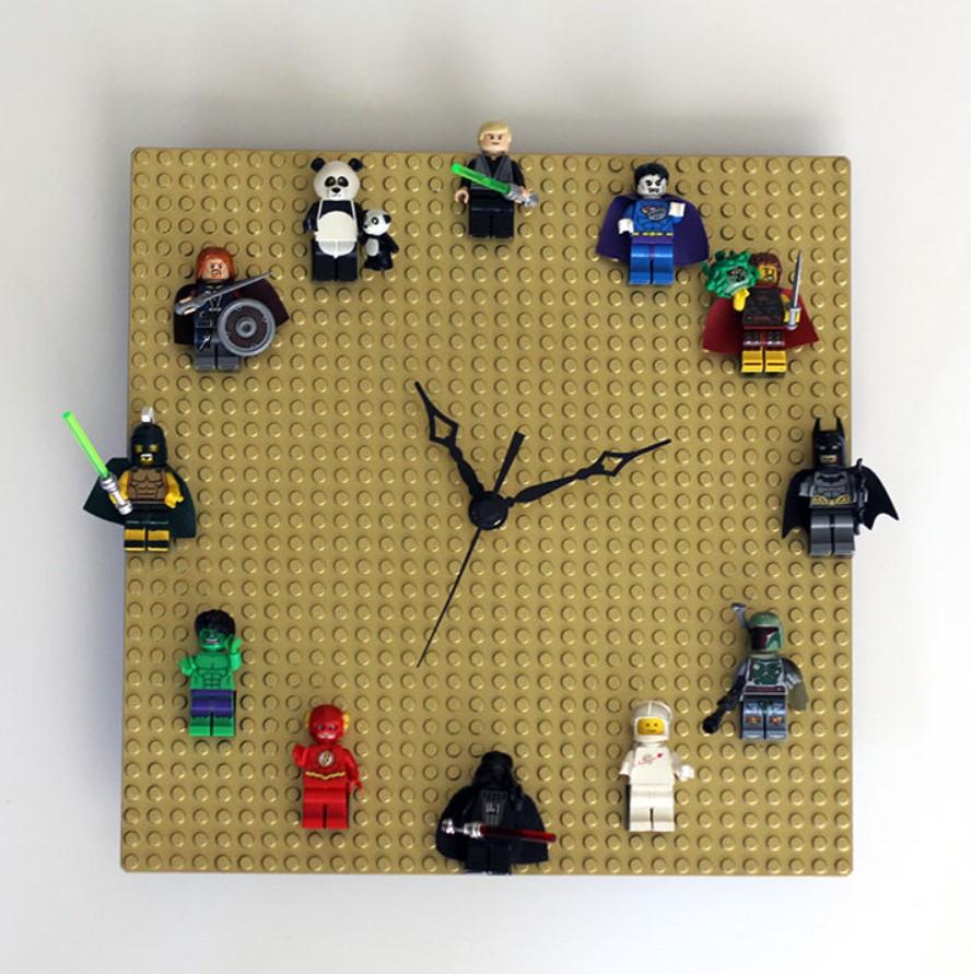 diy ρολόι από lego