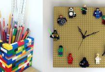 ιδέες διακόσμησης στο παιδικό με lego