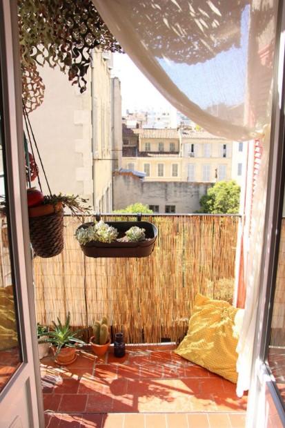 καλαμωτή βεράντα διακοσμητικά μπαλκόνι